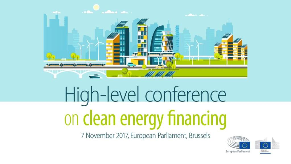 Financing clean energy: High-level conference in the European Parliament today