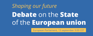 Debate on the State of European Union