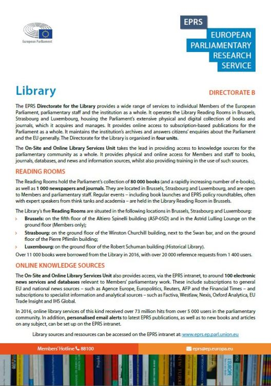 EPRS: Library