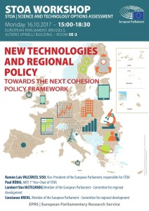 New technologies and regional policy: Towards the next cohesion policy framework