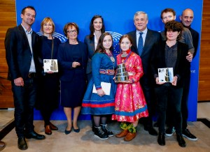 Lux Prize Family Picture
