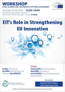 EIT's role in Strengthening EU Innovation