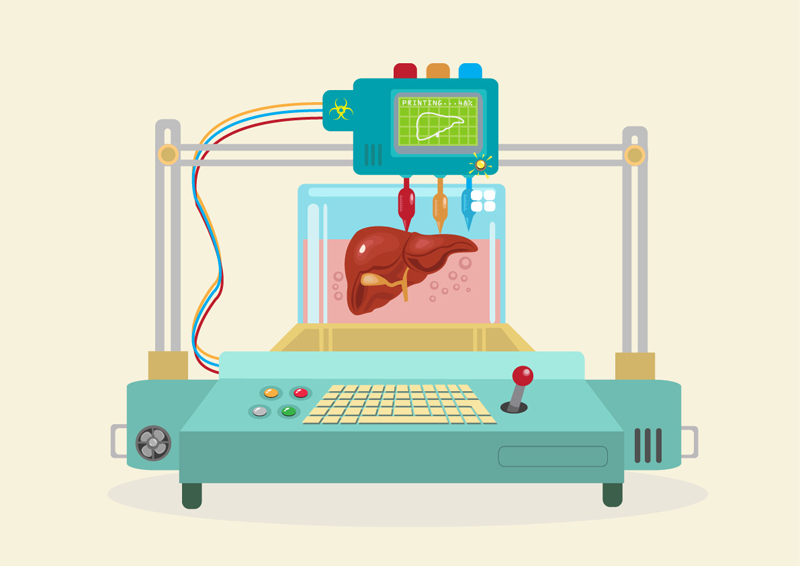 New STOA study examines 3D bio-printing for medical and enhancement purposes