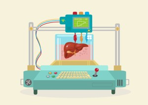 3D Bioprinter. Human Organs replicated.