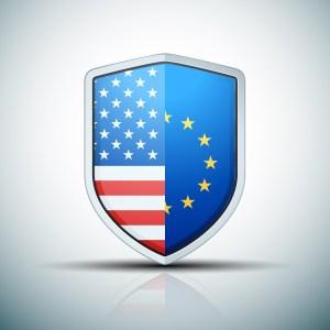 USA-EU shield sign