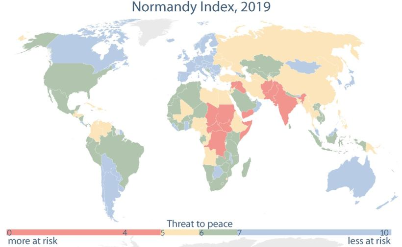 Mapping threats to peace and democracy worldwide: Introduction to the Normandy Index