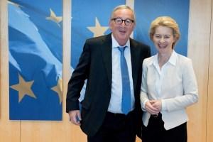 Jean-Claude Juncker, Ursula von der Leyen