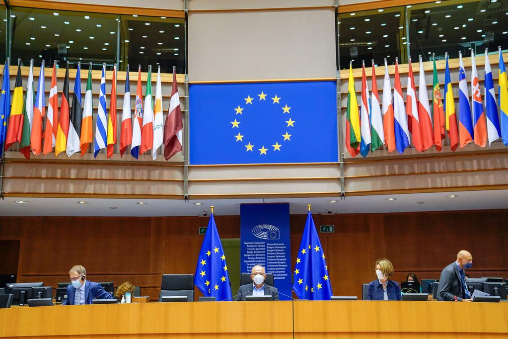 European Parliament Plenary Session – November I 2020