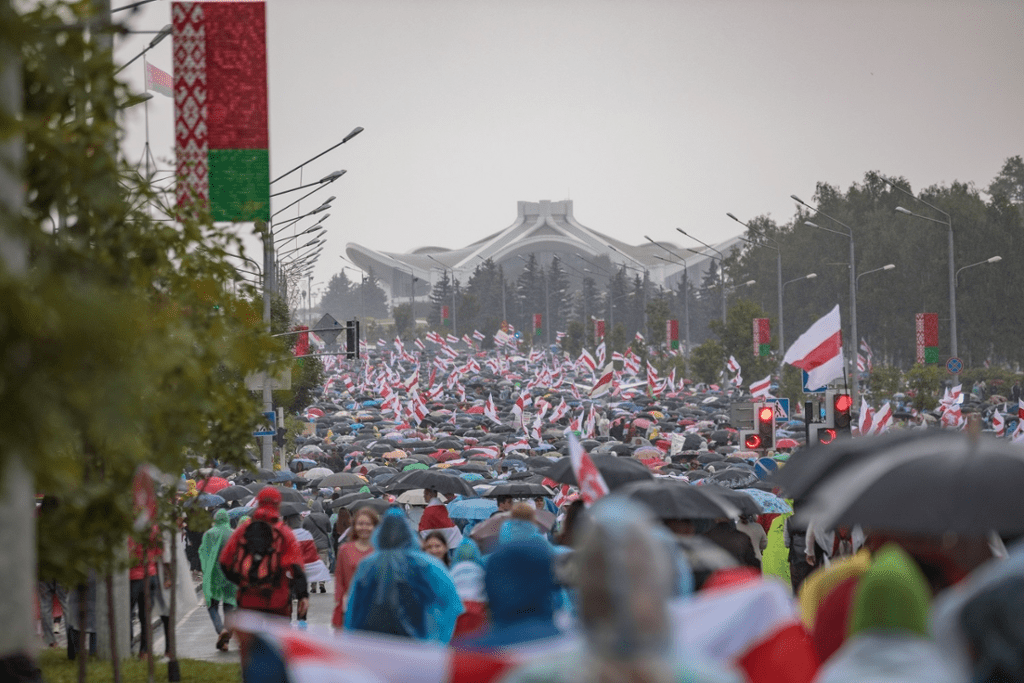 The 2020 Sakharov Prize laureate: The democratic opposition in Belarus
