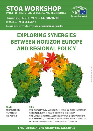 Harmonise EU research and regional policies