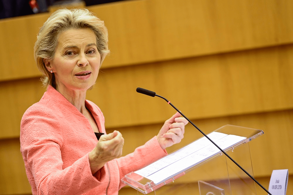 State of the Union address, European Parliament, 2021
