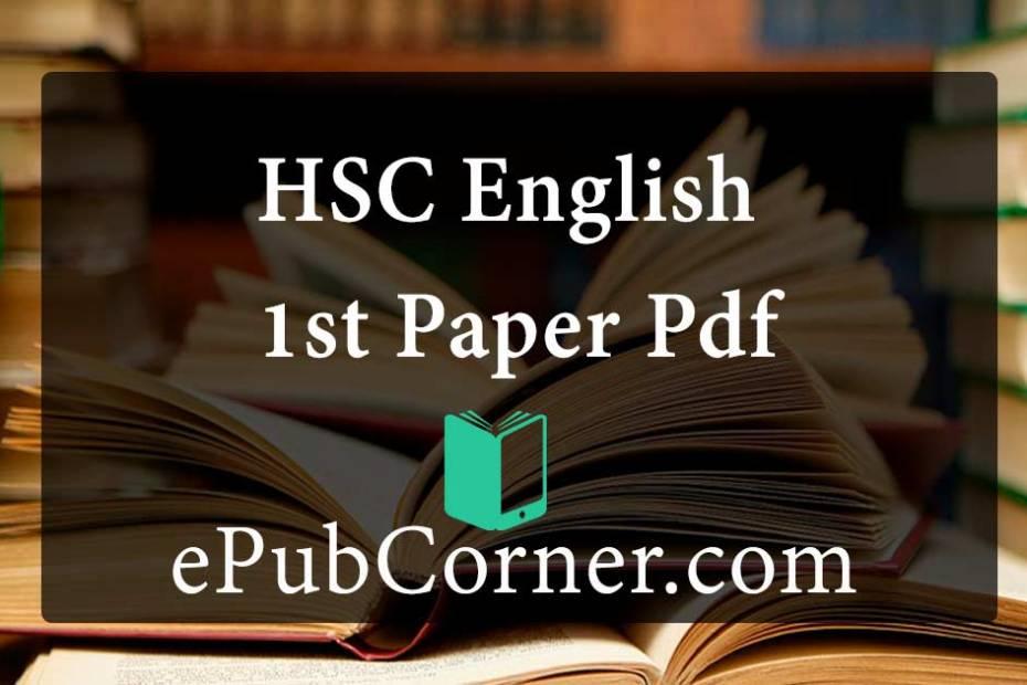 HSC English 1st Paper Pdf