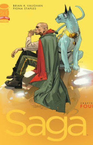 Saga by Brian K. Vaughan, Fiona Staples