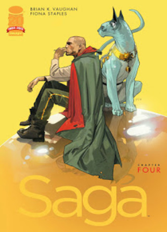 Saga by Brian K. Vaughan, Fiona Staples