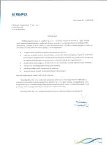 referencje HB Reavis - Zdrofit Konstruktorska
