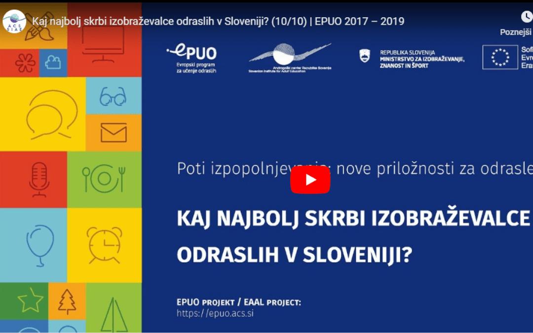 Deset videov EPUO 2017-2019