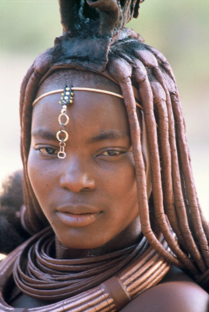A Young Himba Woman