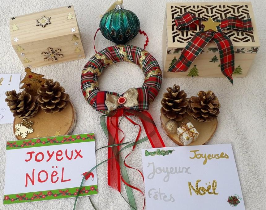 Petits objets de Noël