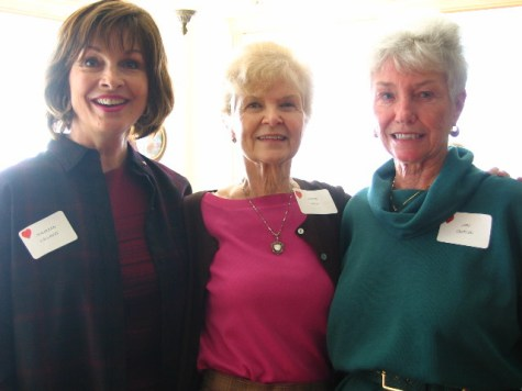 Maureen Callaway, Joanie Doss and Jan Griffin