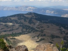 Crater Lake view from Mt. Scott
