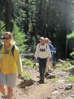 Hiking Cold Springs Trail