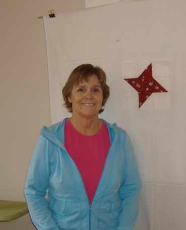 Joan with complete friendship star block.