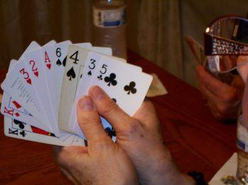 a lucky hand