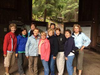 Linda, Susan, Maureen, Gerene, Sharyn, Georgia, Nancy, Kathy, Kristine, & Elaine