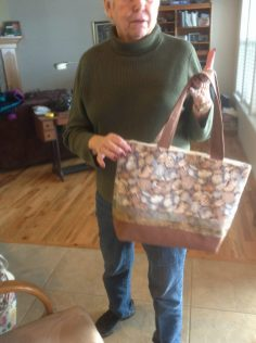 Betty's quilted bag