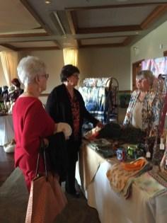 Wilma Hamilton and Lynn Tally enjoying some shopping