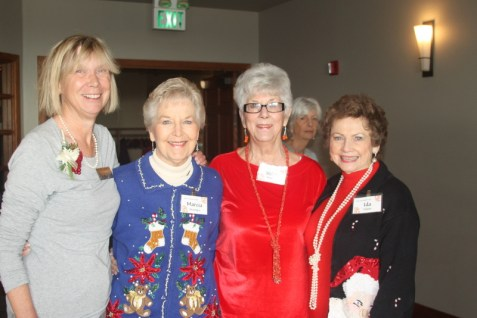More smiles from Martha Roy, Marcia McIntyre, Wilma Hmilton and Ida Tolmie