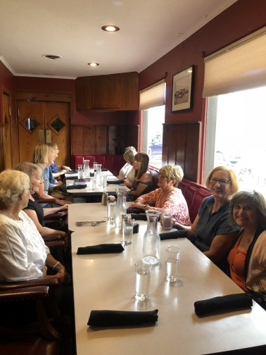 Ready for lunch at Omar's