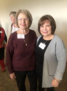 Fran Morgan and Susan Roach