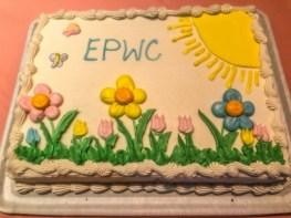One of the birthday cakes