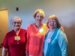 Sandi Smith, Joyce Westrum, Janice Kabel