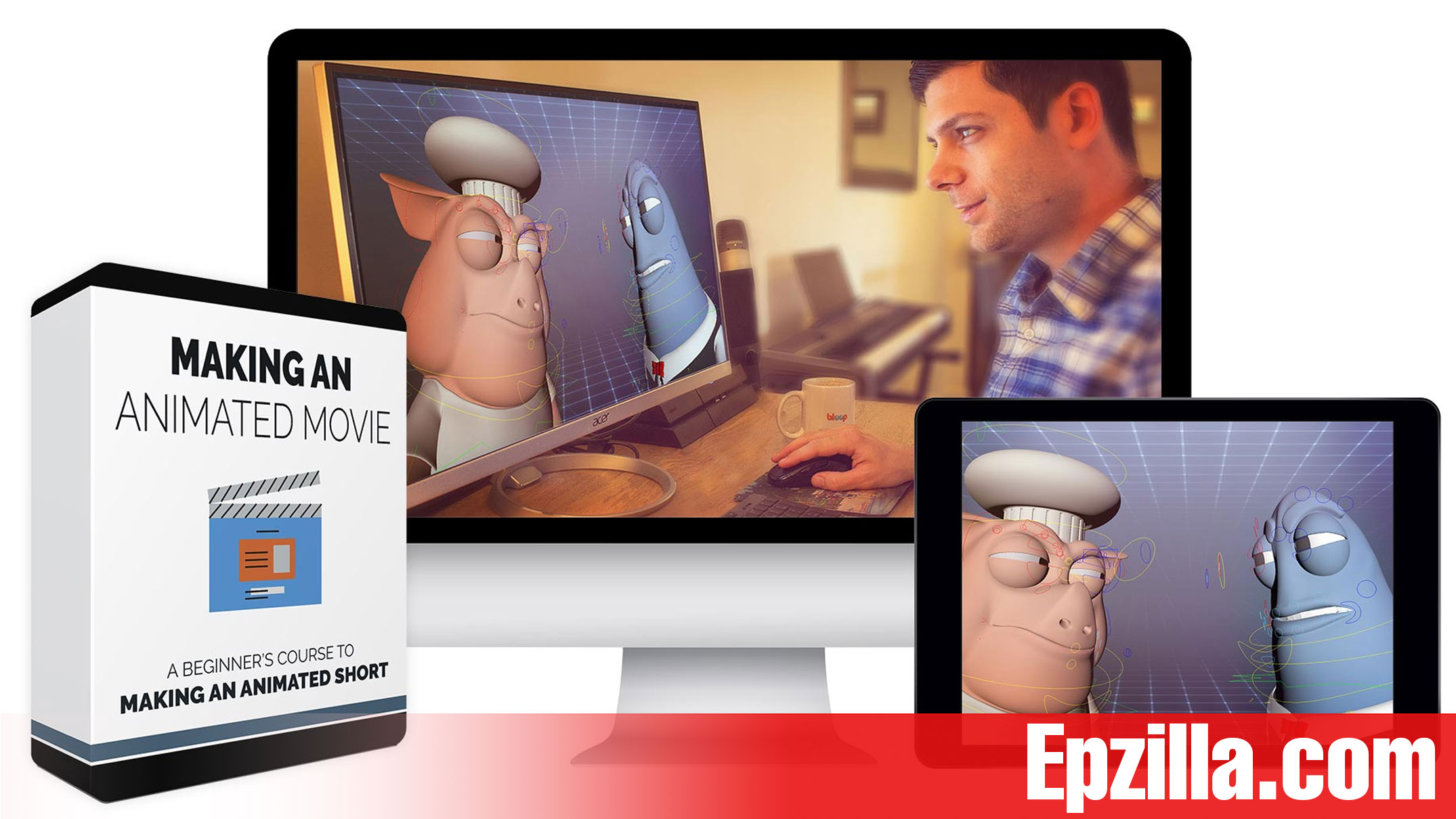 Bloop Animations Making an Animated Movie Free Download Epzilla.com Making an Animated Movie course - 30 HD Video Lessons
