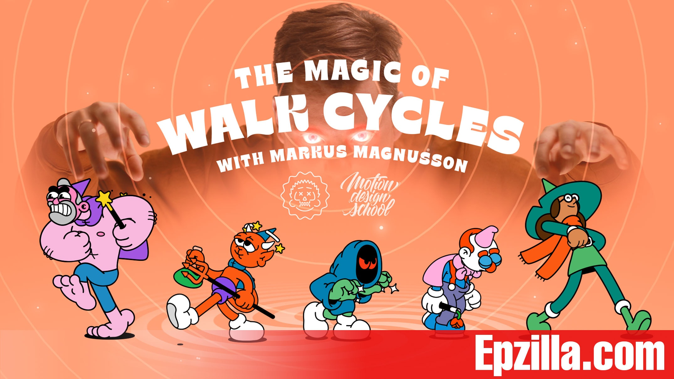 Motion Design School The Magic of Walk Cycles With Markus Magnusson Free Download Epzilla.com
