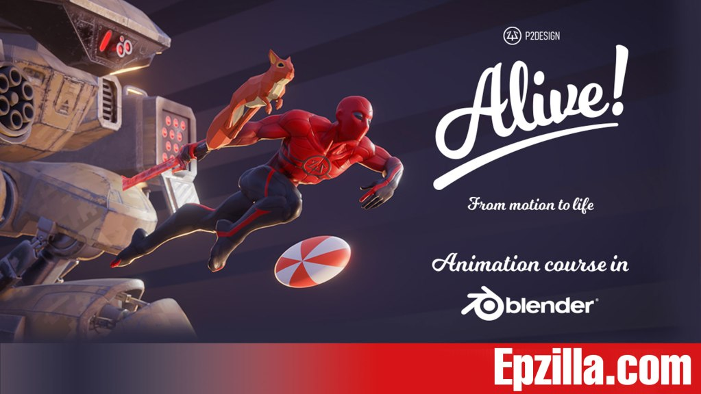 Alive! Animation Course In Blender Free Download