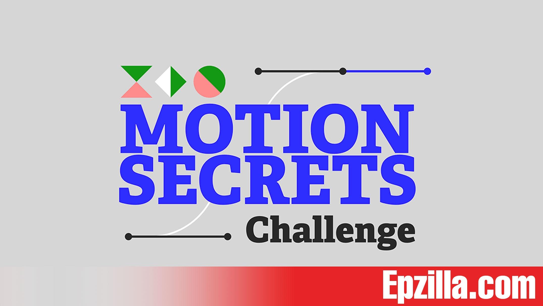 Motion Design School - Motion Secrets with Emanuele Colombo Free Download Epzilla.com
