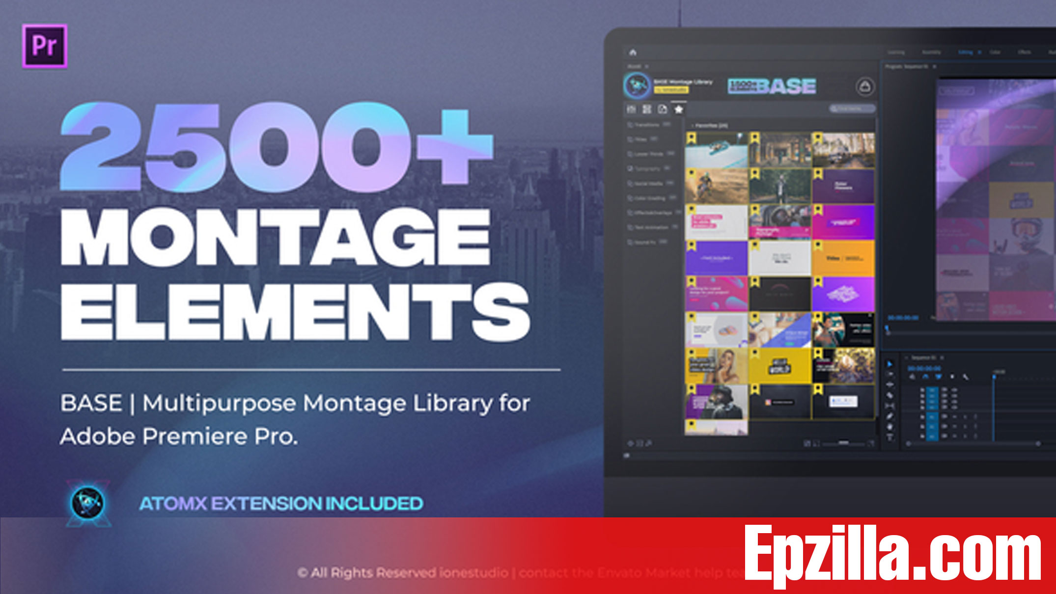 Videohive AtomX BASE Transitions and Motion Graphics for Premiere Pro 29733181 Free Download Epzilla.com