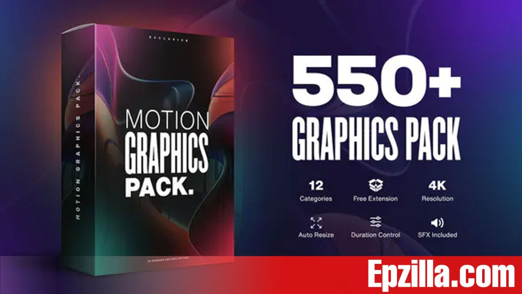 Videohive – AtomX Motion Graphics Pack 550+ Animations Pack 23678923
