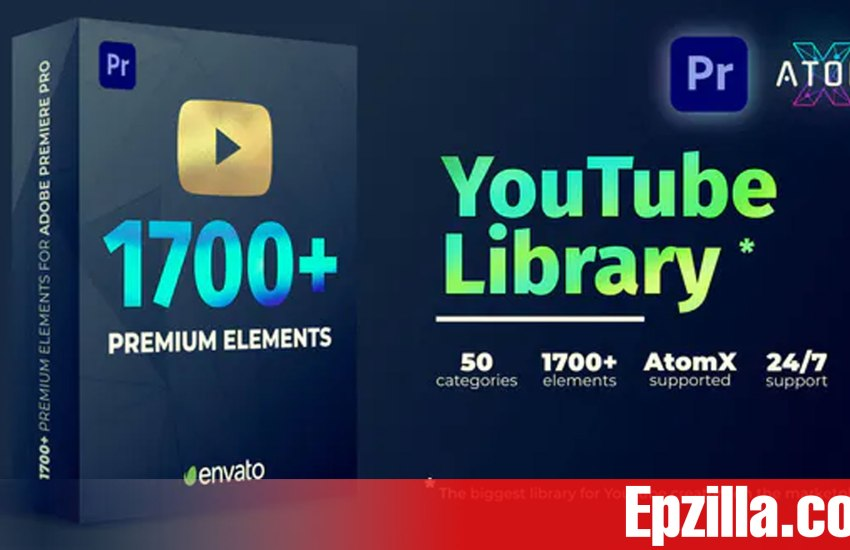 Videohive AtomX YouTube Library V2.1 27009072 Free Download Epzilla.com