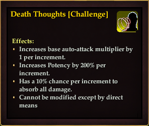 Effect - Death Thoughts Challenge