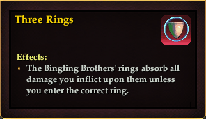 Effect - Three Rings - red
