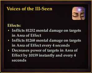 Effect - Voices of the Ill-Seen