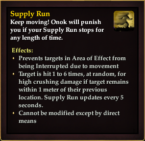 Effect - Supply Run