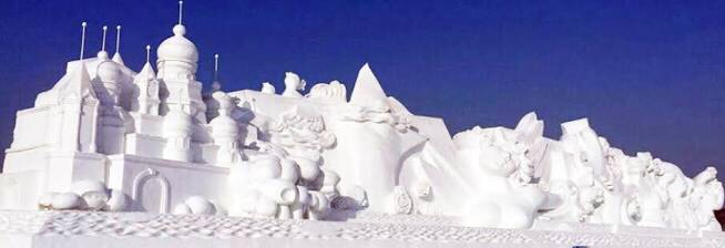 Watch the best of The Harbin International Ice Festival China