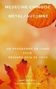 programme Métal/Automne