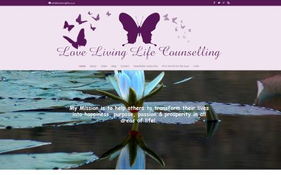 Love Living Life Counselling new website launched!