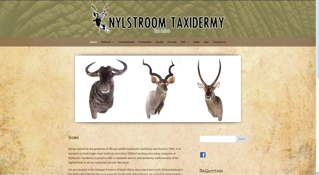 Nylstroom Taxidermy